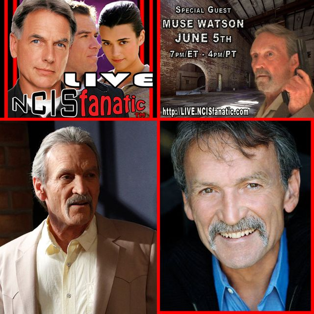 "Fans Discuss NCIS & NCIS:Los Angeles — Hosted by NCISfanatic [John] and InherentlyRandom [Ashley] from our NCIS Random Reviews — Actor MUSE WATSON (NCIS's ""Mike Franks"") joins us LIVE on Webcam to answer your questions! — NCISfanatic LIVE - Tuesday JUNE 5, 7p/ET 4p/PT"