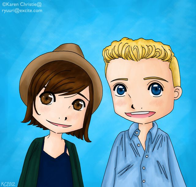 Artwork by Karen Christie — Chat with Barrett Foa and Renée Felice Smith - NCIS: Los Angeles (CBS)
