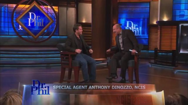 NCIS - Special Agent Tony DiNozzo Visits Dr. Phil - CBS Video