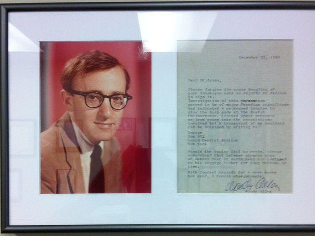 Woody Allen Letter
