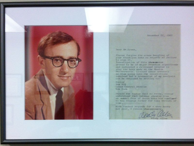 Woody Allen Letter IMG_1686