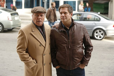 NCIS Father and Son DiNozzo - Photo by Richard Cartwright - © 2014 CBS Broadcasting, Inc. All Rights Reserved