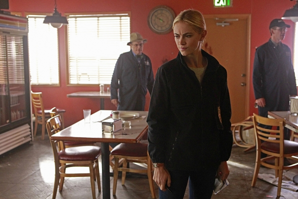 The NCIS team must investigate a series of crime scenes that appear to be copy-cats of previous cases, on NCIS, Tuesday, Jan. 6 (8:00-9:00 PM, ET/PT), on the CBS Television Network. Pictured left to right: David McCallum, Emily Wickersham and Sean Murray Photo: Sonja Flemming/CBS ©2014 CBS Broadcasting, Inc. All Rights Reserved