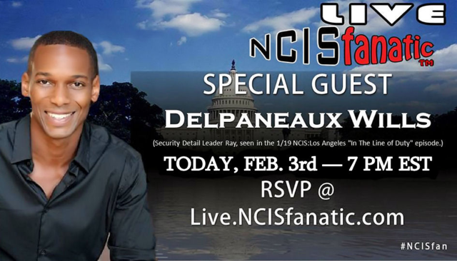 NCISfanatic LIVE Webcast — Tuesday FEB 03 2015