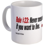 Rule #23: Never mess with a Marine's coffee if you want to live. 2x09 'Forced Entry'